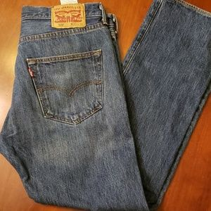Levi's 501 Button Fly 33x30 Jeans NWOT Med Wash